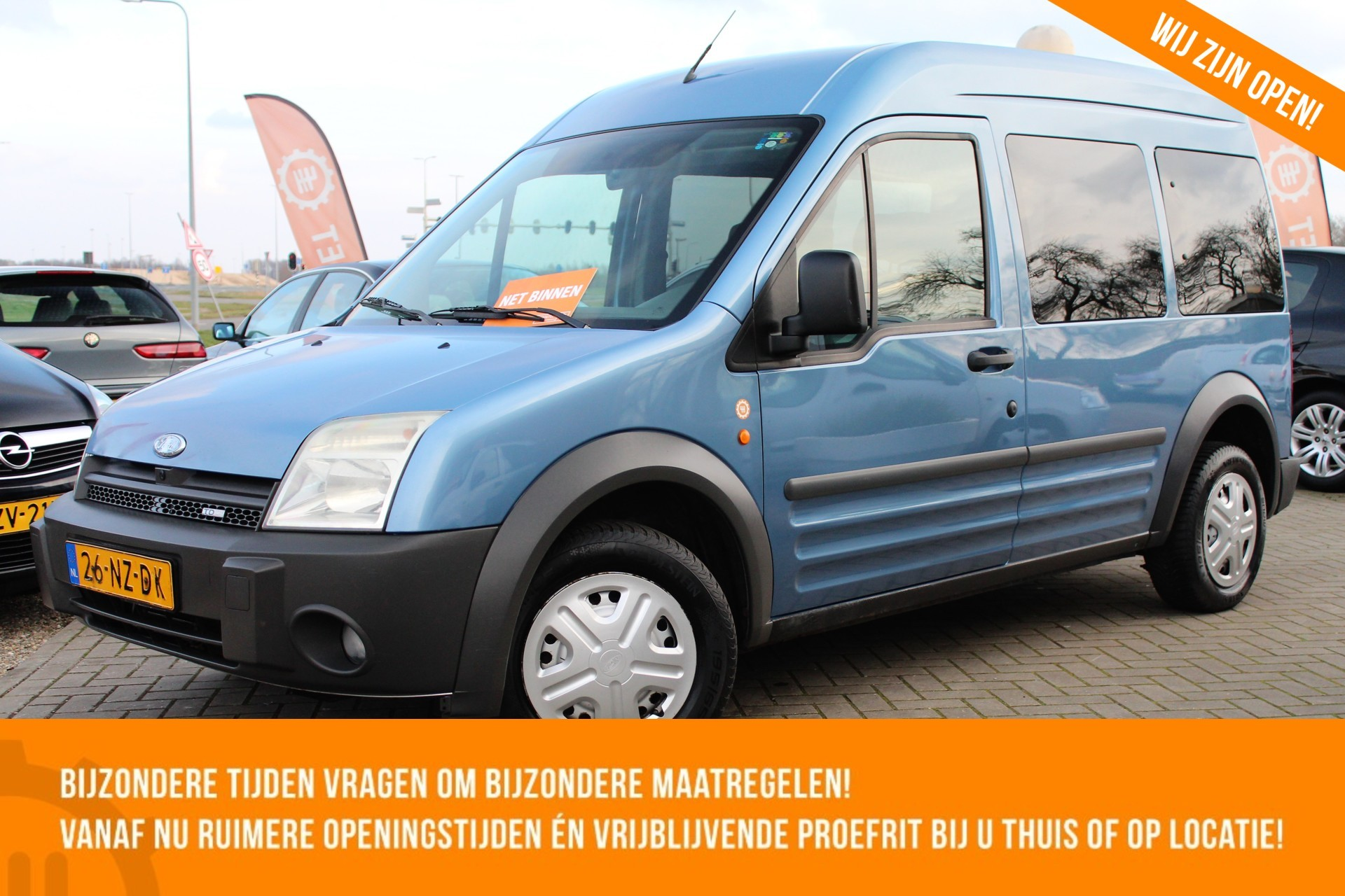 Caroutlet Groningen - Ford Tourneo Connect 1.8 TDCi LWB | AIRCO | ZIJSCHUIFDEUR  |