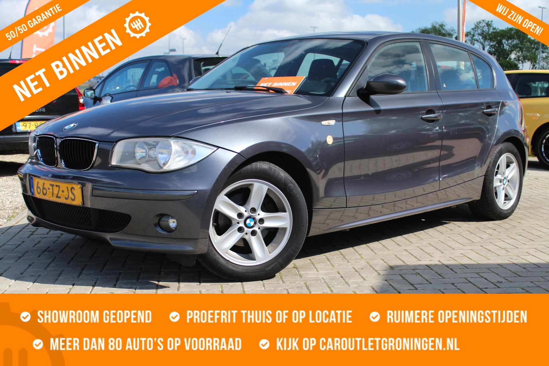Caroutlet Groningen - BMW 1-serie 118i Business Line | AIRCO | NW KETTING | INRUILKOOPJE