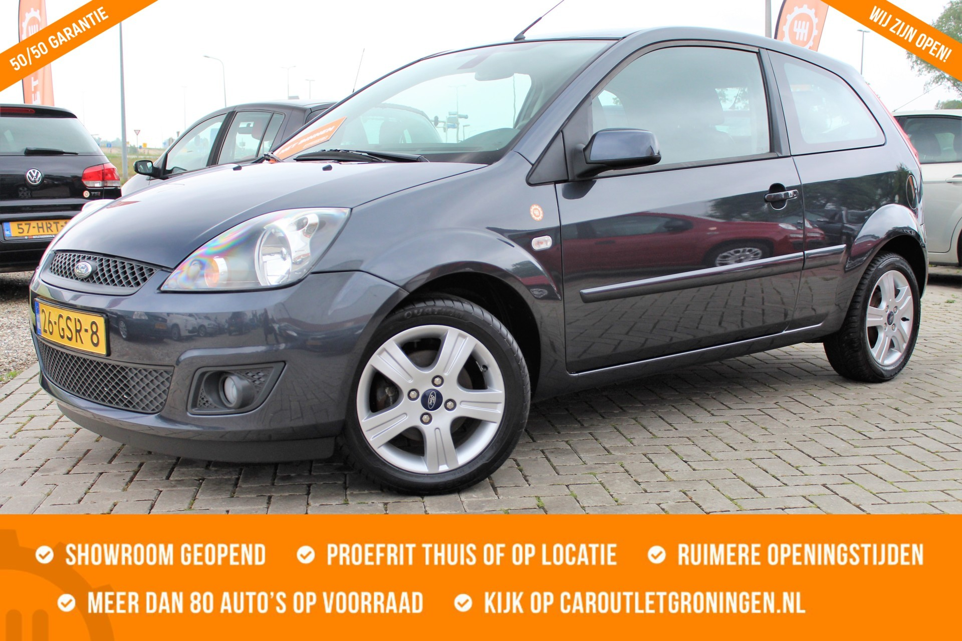 Caroutlet Groningen - Ford Fiesta 1.3-8V Futura XL | PDC | CLIMA | CRUISE | 2008