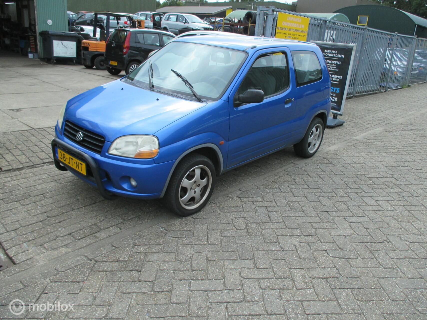 Onderdelen Suzuki Ignis 1.3-16V Sport 2002