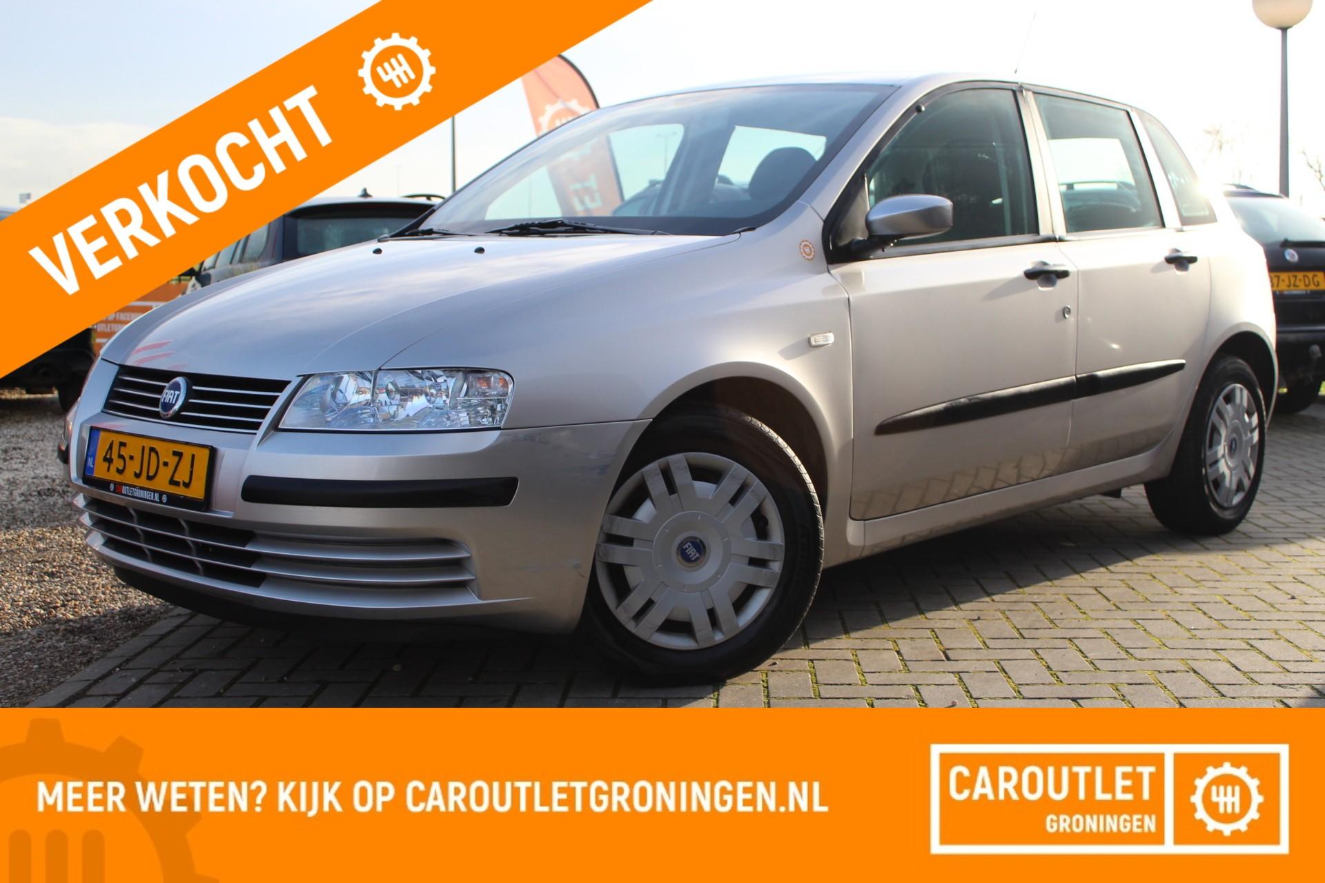 Caroutlet Groningen - Fiat Stilo 1.2-16V Active   5 DEURS   TOPSTAAT   2E EIGENAAR