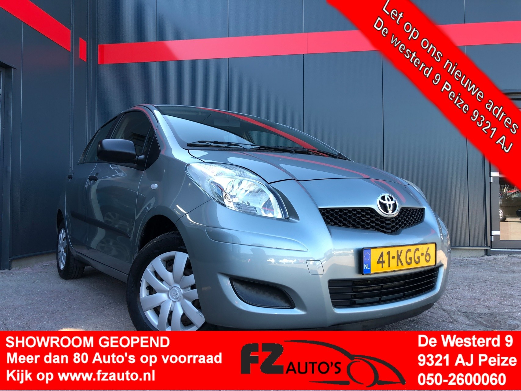 Toyota Yaris 1.0 VVTi Cool |Metallic |Airco |