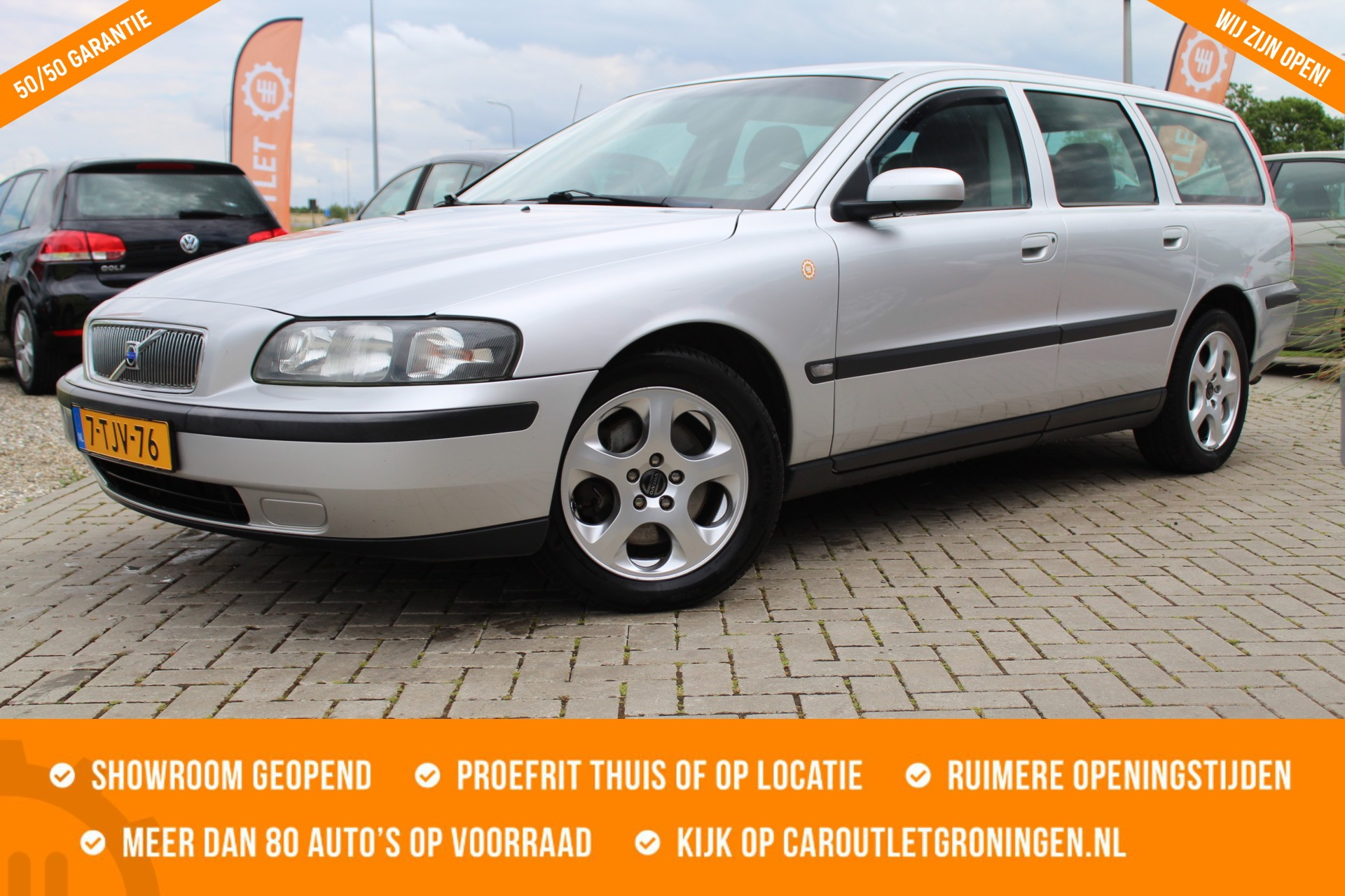 Caroutlet Groningen - Volvo V70 2.4 D5 Geartronic   AIRCO   TOPSTAAT   NW APK