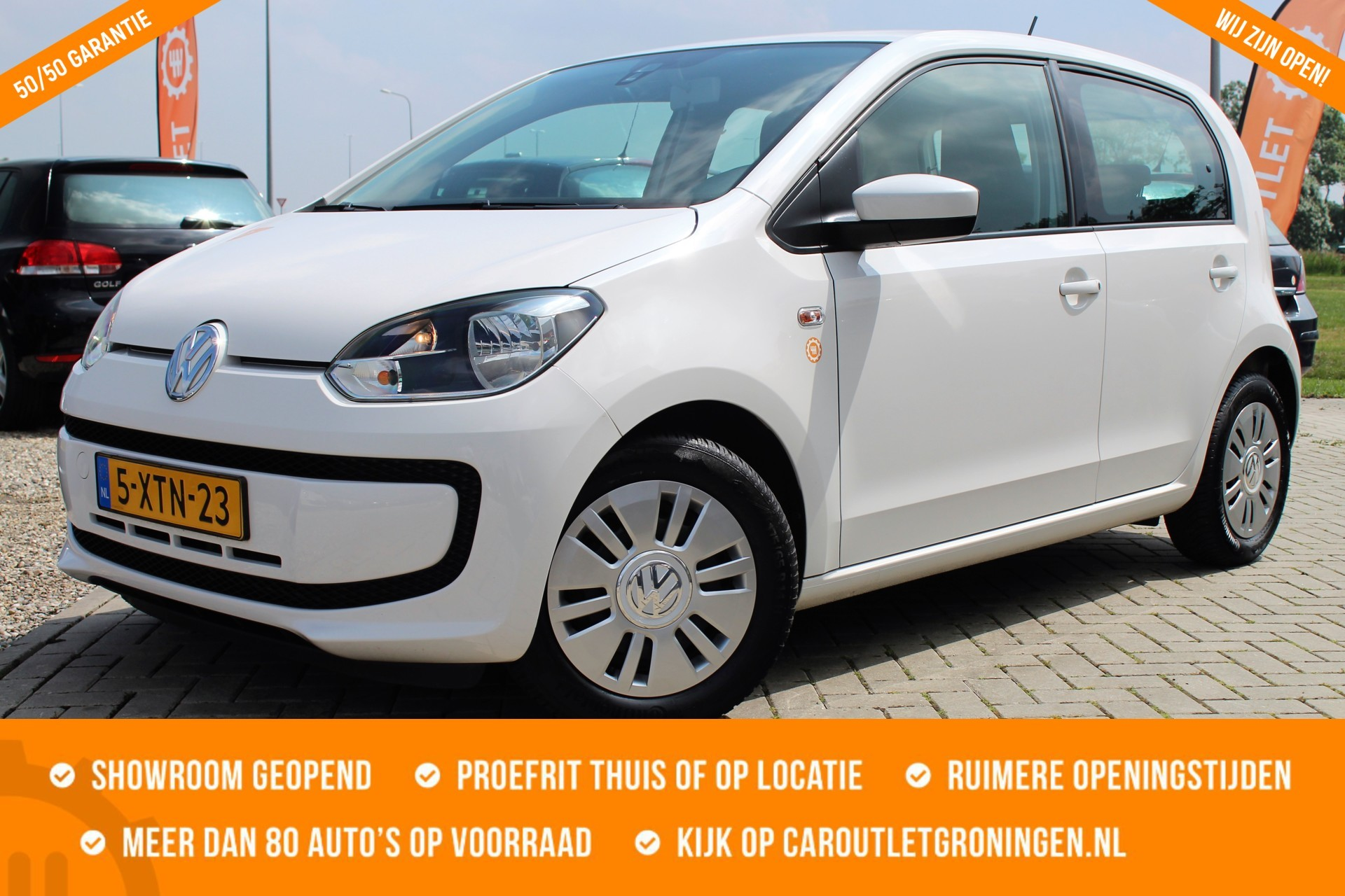 Caroutlet Groningen - Volkswagen Up! 1.0 move up! BlueMotion   5 DEURS   AIRCO  