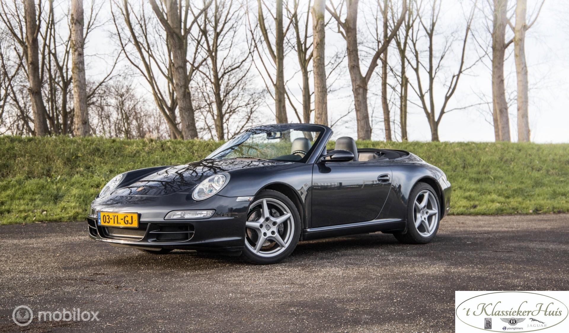 Porsche 911 Cabrio 3.6 Carrera handgeschakeld
