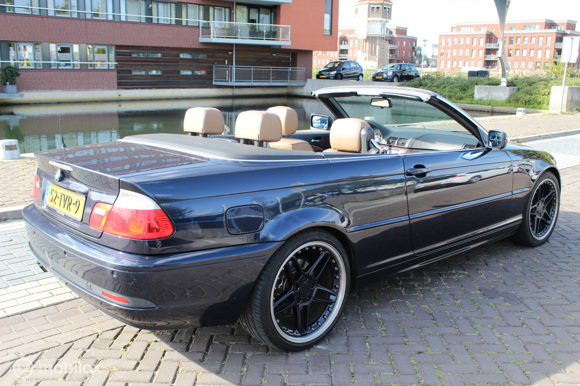 BMW Cabrio 320Ci Exe. Automaat Facelift Navi Leder bj:2003