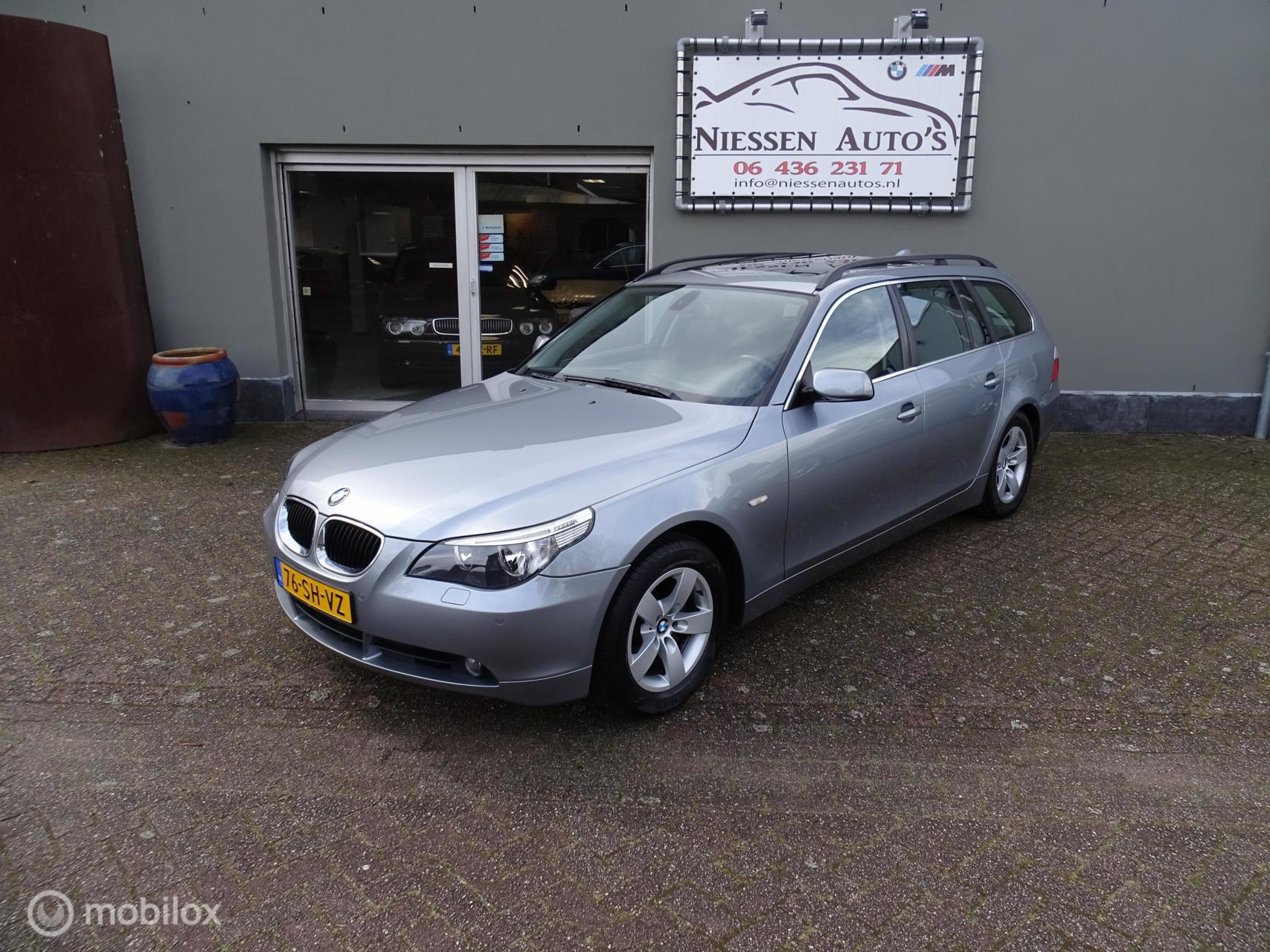 BMW 5-serie Touring E61 525i Executive Navi/Pano/Trekhaak