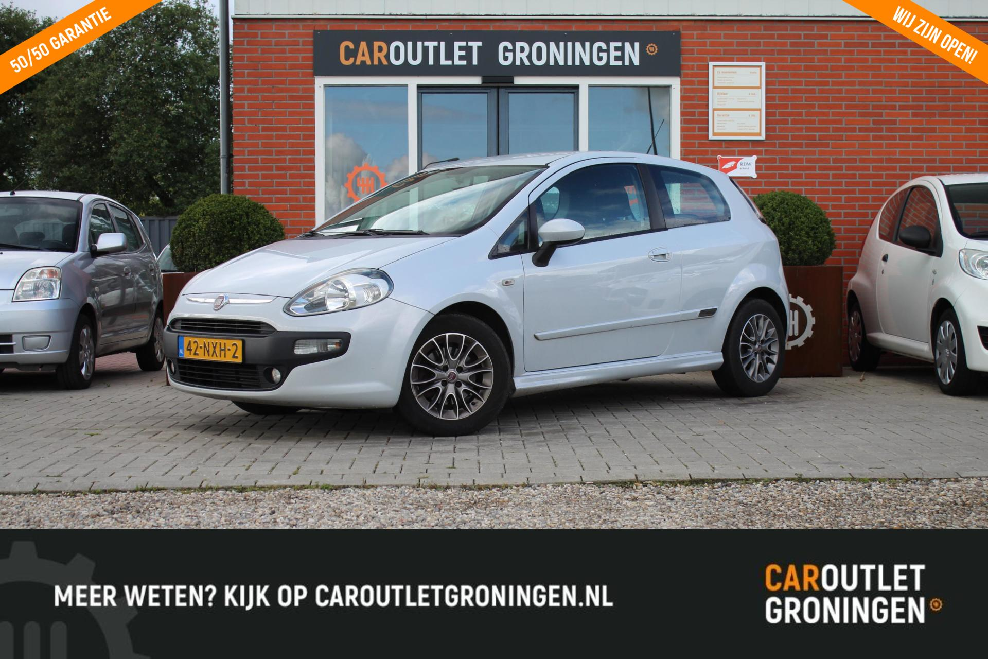 Caroutlet Groningen - Fiat Punto Evo 1.3 M-Jet Dynamic   TOPSTAAT   CLIMA   CRUISE