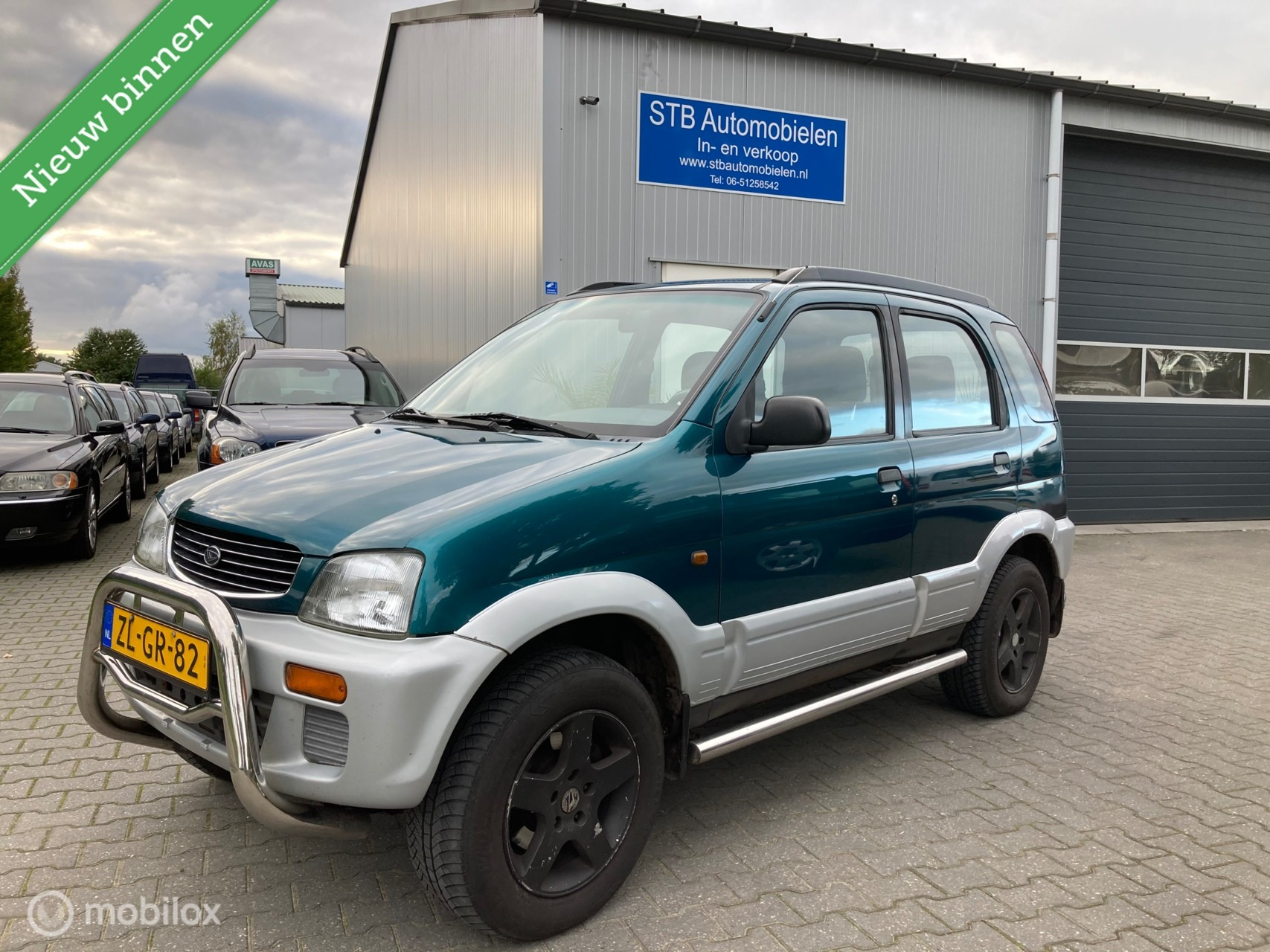 Daihatsu Terios 1.3 SX, 4x4, airco