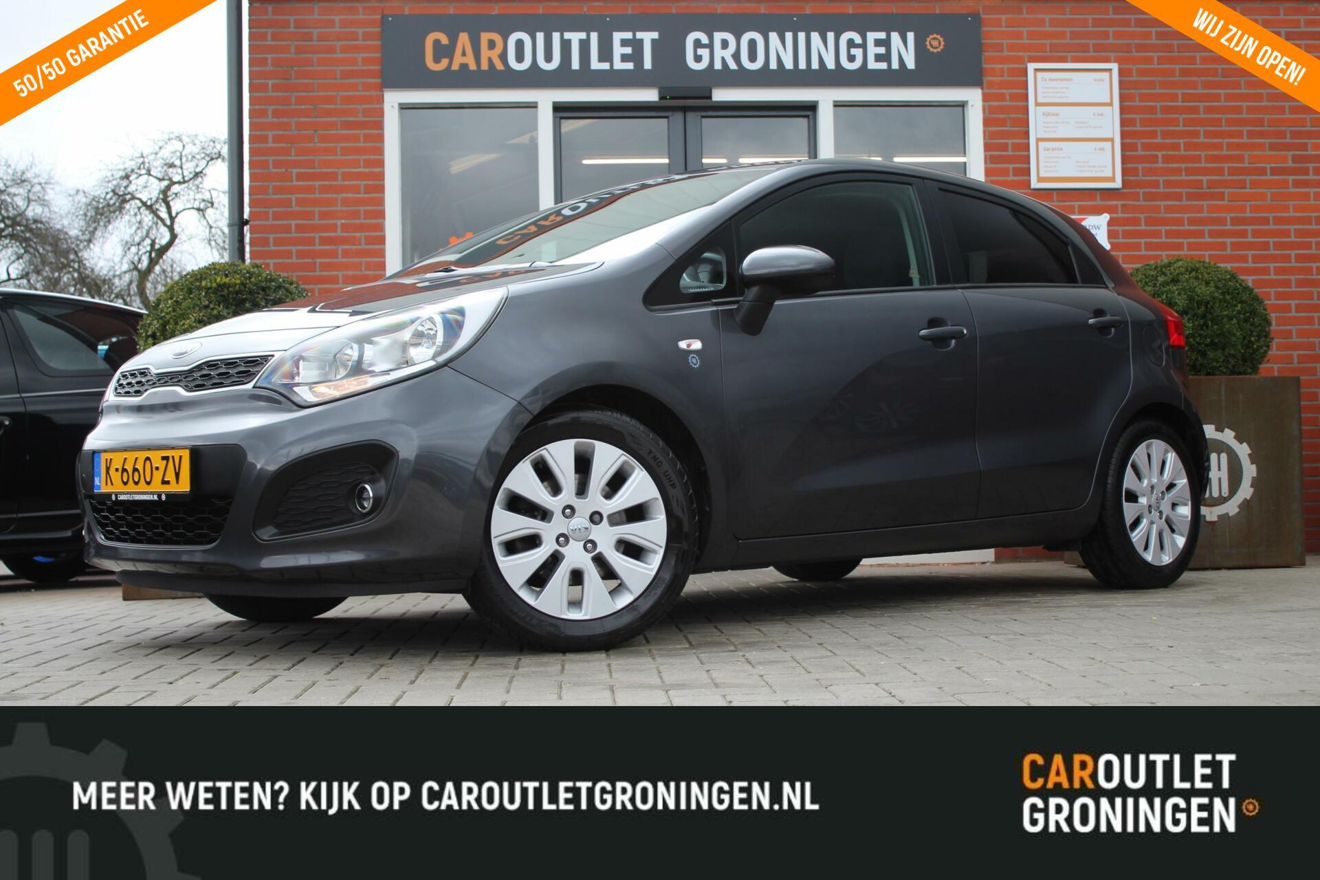 Caroutlet Groningen - Kia Rio 1.2 CVVT Comfort Pack   CLIMA   16′ LMV