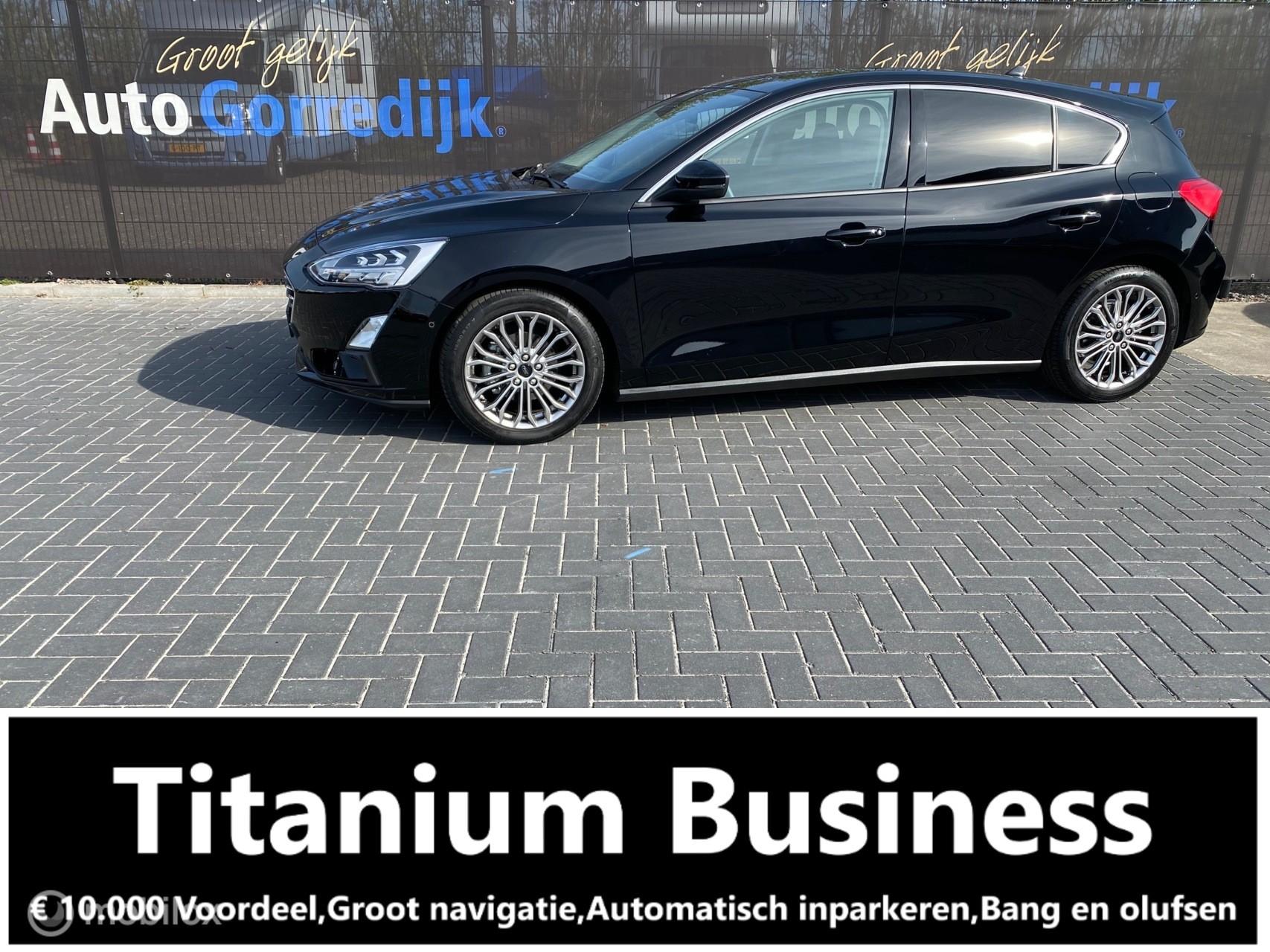 Ford Focus 1.0 EcoBoost Titanium Business B & O nw €30.000,-