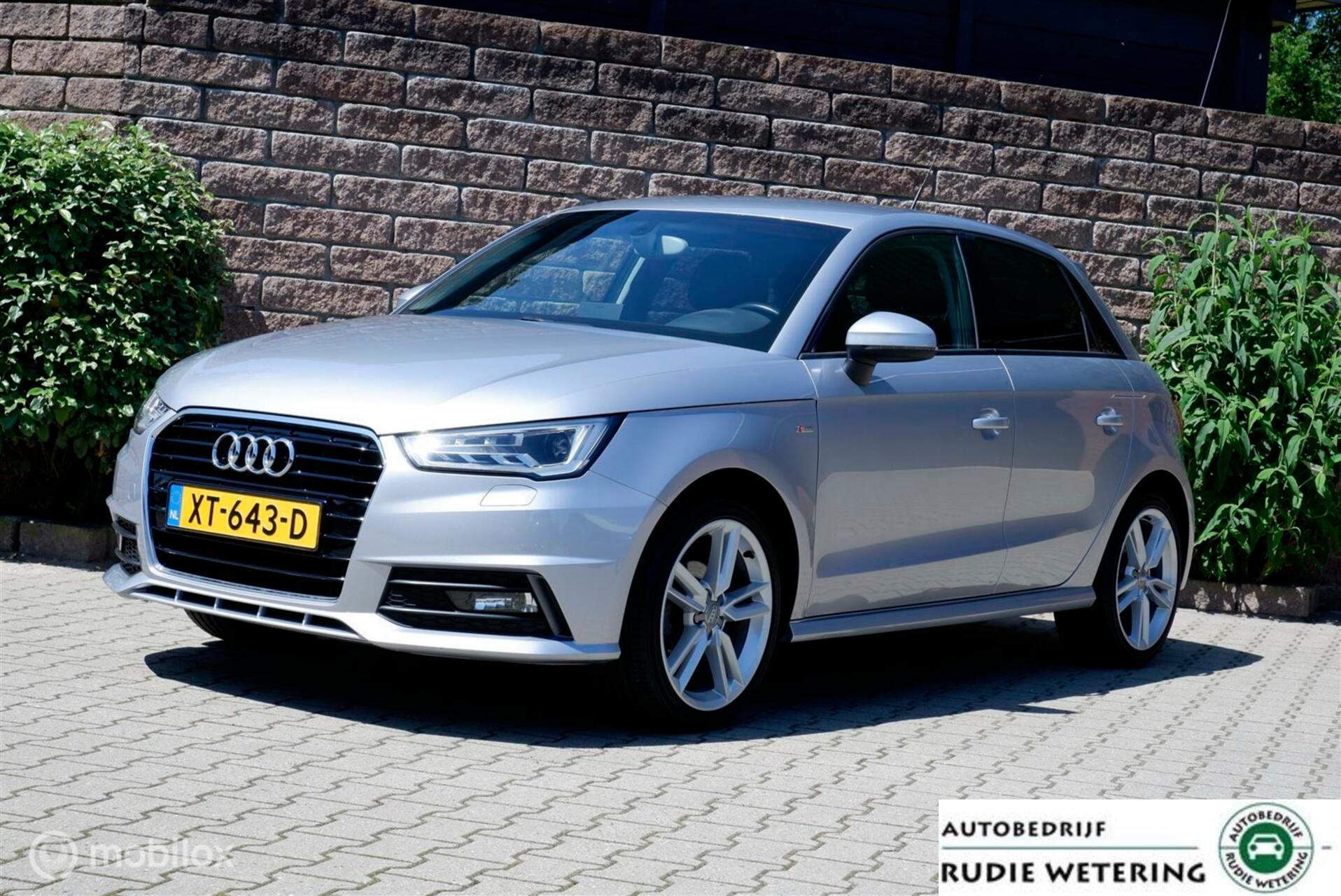 Audi A1 Sportback 1.0 TFSI Sport S Line xenon/ecc/stoelverw./lmv17