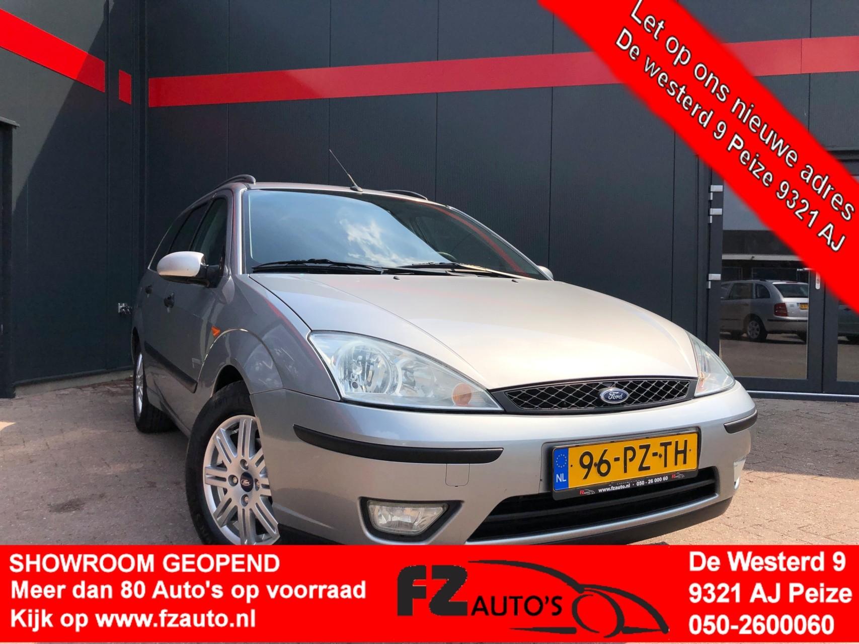Ford Focus Wagon 1.6-16V First Edition | Metallic |