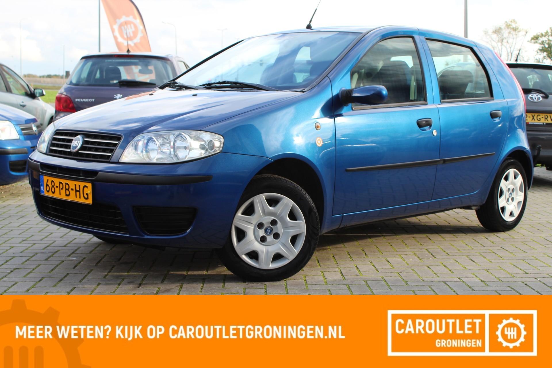 Caroutlet Groningen - Fiat Punto 1.2 Active   2004   AIRCO   5 DEURS  