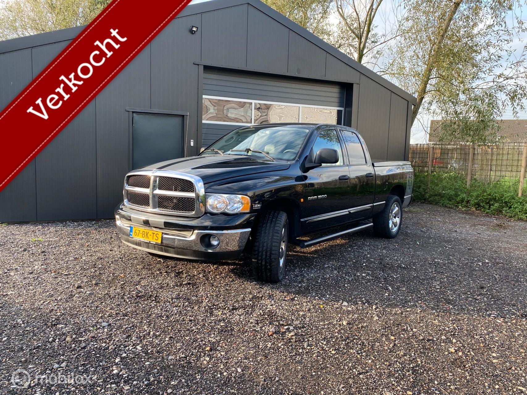 Dodge Ram Hemi 5.7 |LPG |4x4|Dubbele cabine| Youngtimer