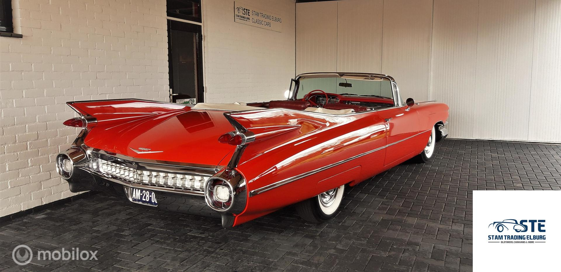 Cadillac Sixty-Two Convertible 62 series 1959