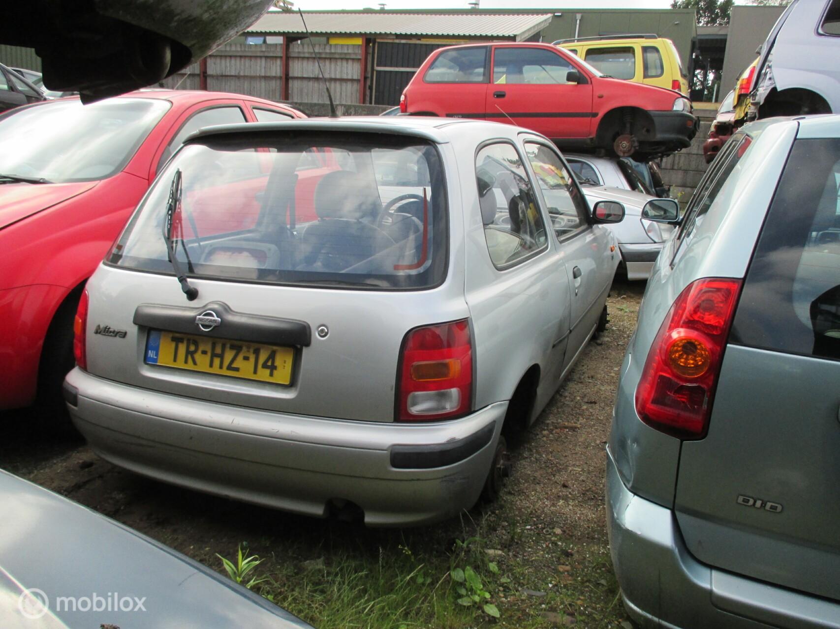 Onderdelen Nissan Micra 1.0 GL 1998