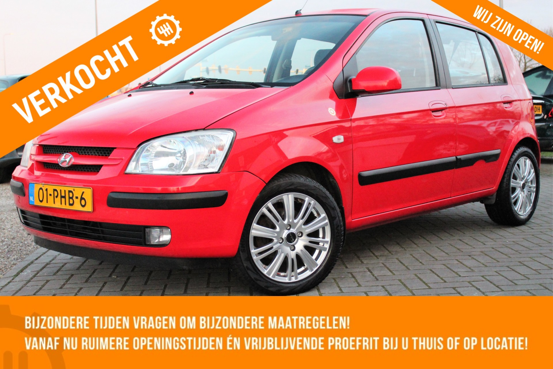 Caroutlet Groningen - Hyundai Getz 1.3i Active | 5 DEURS | TREKHAAK | ELEK PAKKET