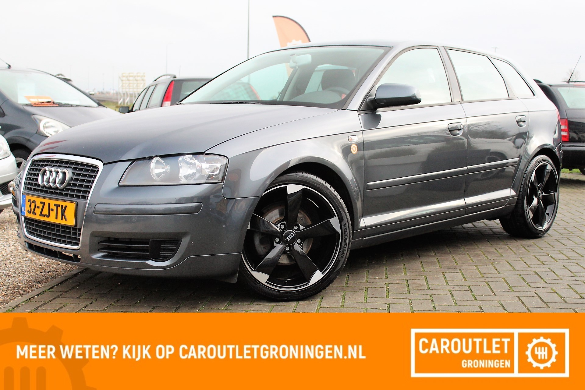 Caroutlet Groningen - Audi A3 Sportback 1.8 TFSI Attraction 200PK | CLIMA | CRUISE |