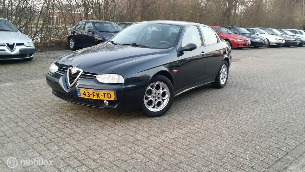 Alfa Romeo 156 - 2.0 16V CLASSICCAR TAXATIE RAPPORT ALS NIEUW