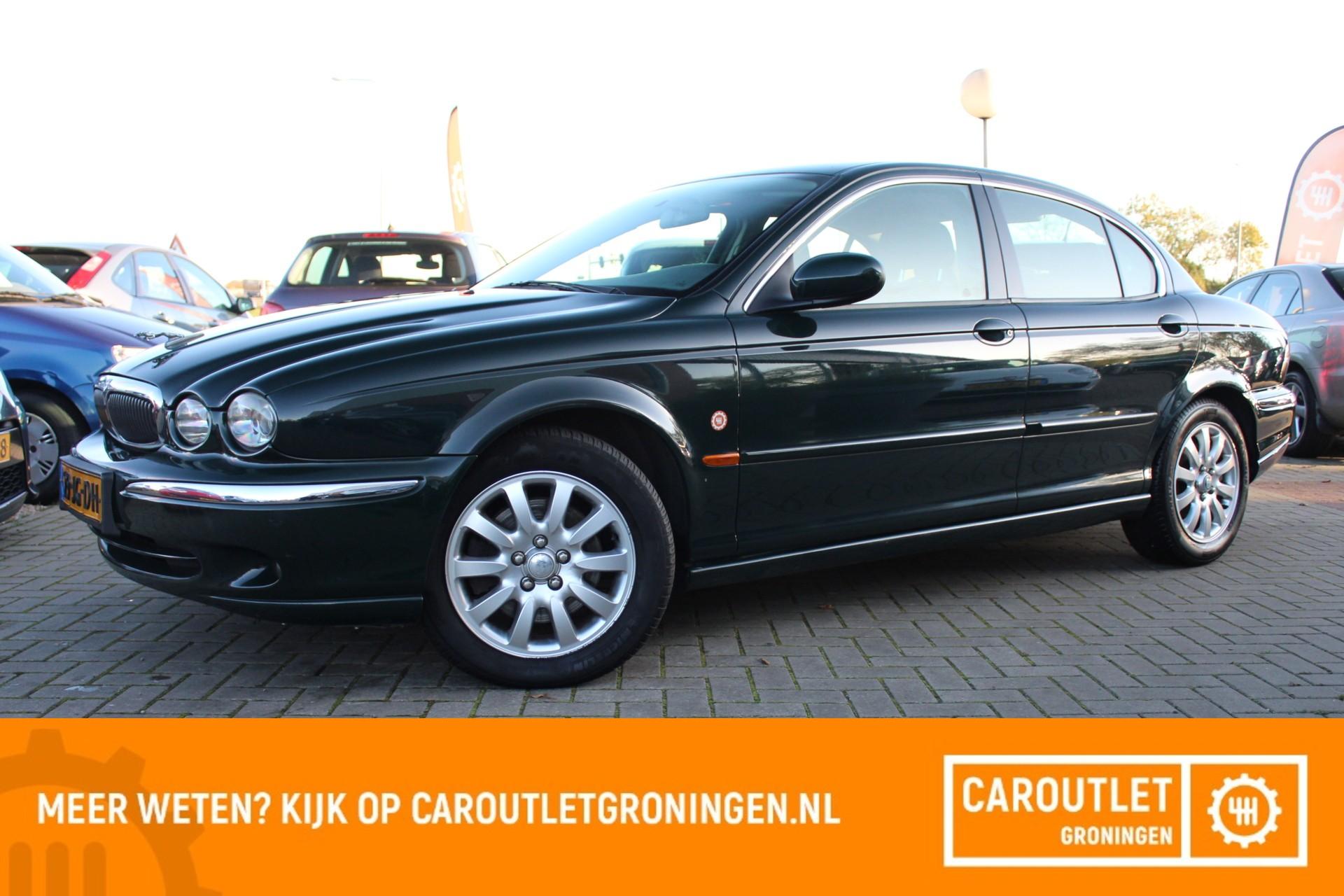 Caroutlet Groningen - Jaguar X-type 2.5 V6 Executive   AWD   NAVI   CLIMA