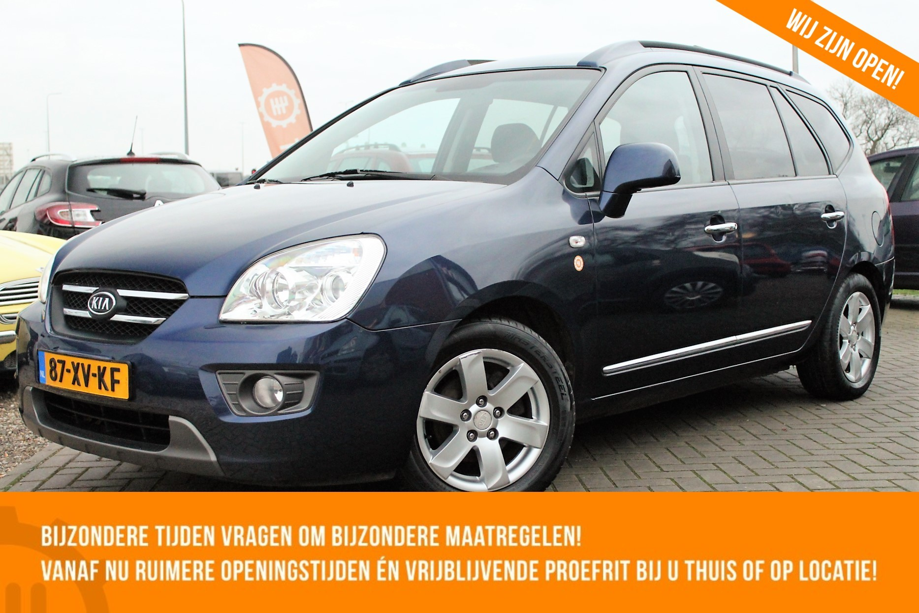 Caroutlet Groningen - Kia Carens 2.0 CVVT X-tra 7 PERSOONS | CRUISE | TREKHAAK | CLIMA