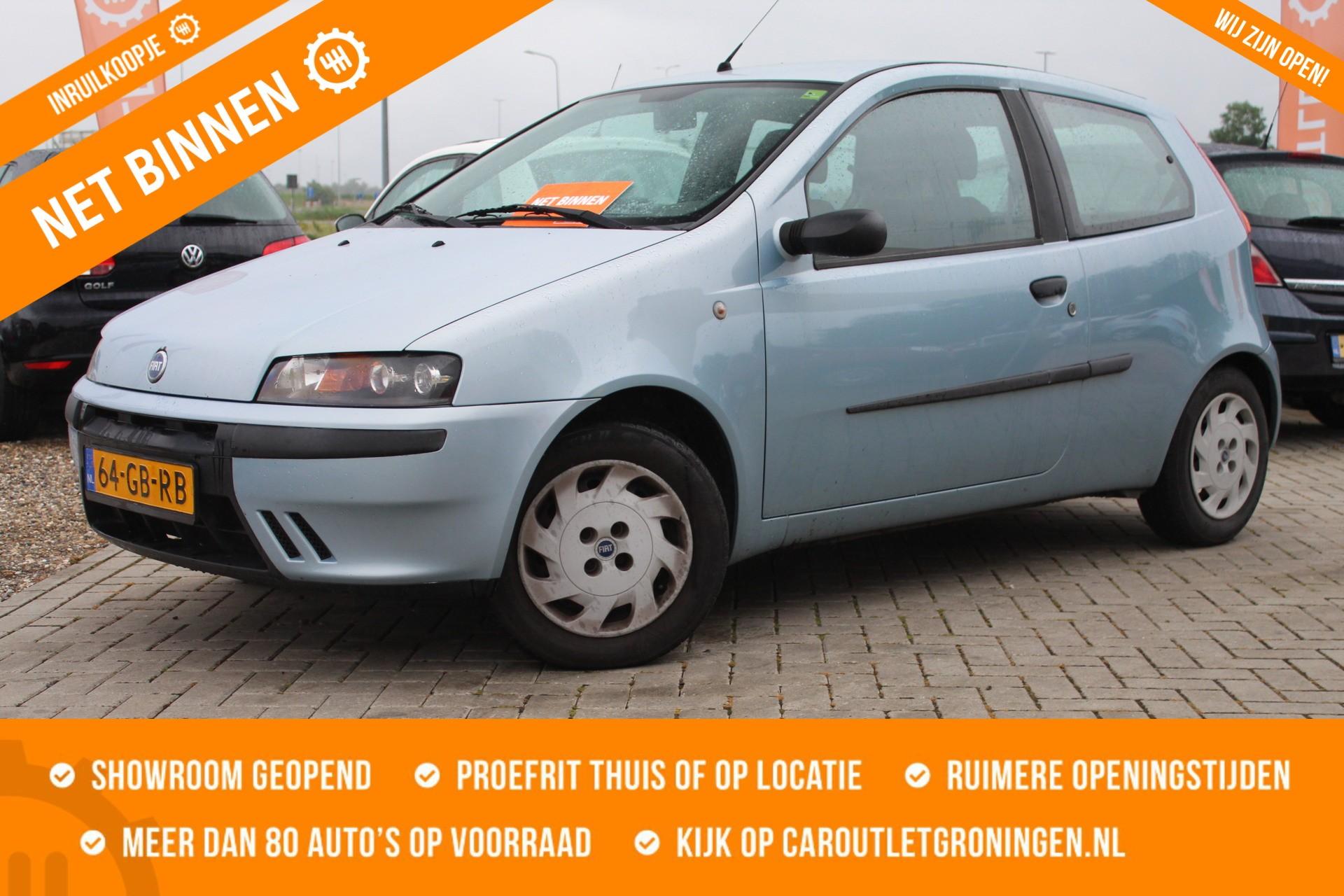 Caroutlet Groningen - Fiat Punto 1.2 ELX | INRUILKOOPJE | ELEK PAKKET | 187.000KM