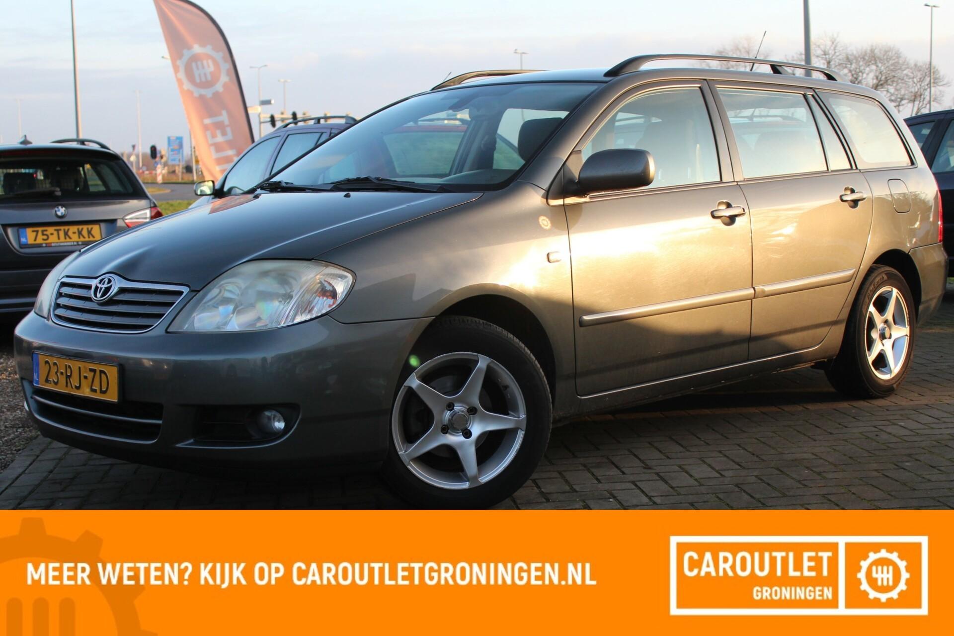 Caroutlet Groningen - Toyota Corolla Wagon 1.6 VVT-i Linea Sol | DEALER OH | CLIMA | CRUISE