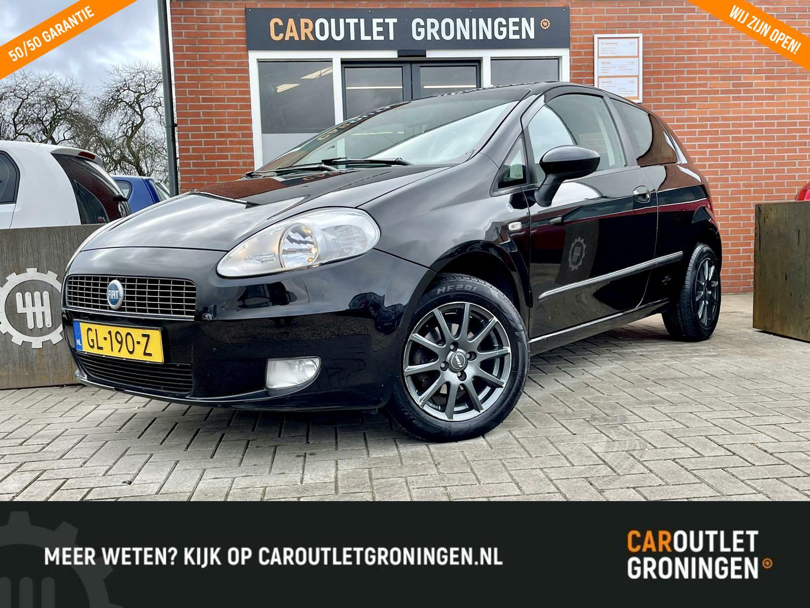 Caroutlet Groningen - Fiat Grande Punto 1.4 Edizione Blue & Me| NW APK | CLIMA | CRUISE