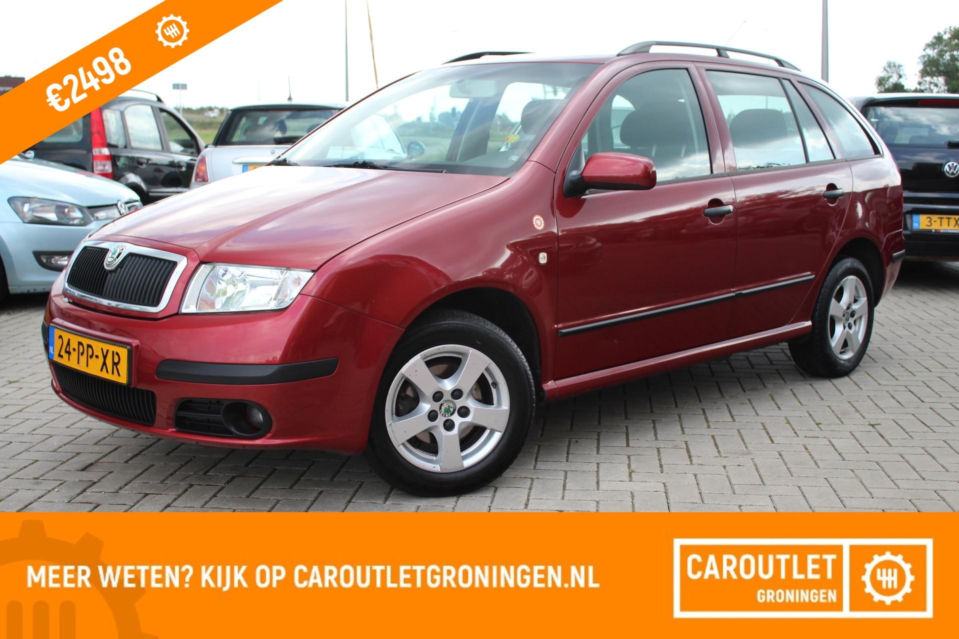 Caroutlet Groningen - Skoda Fabia Combi 1.4-16V Comfort | AIRCO | CRUISE | 2004