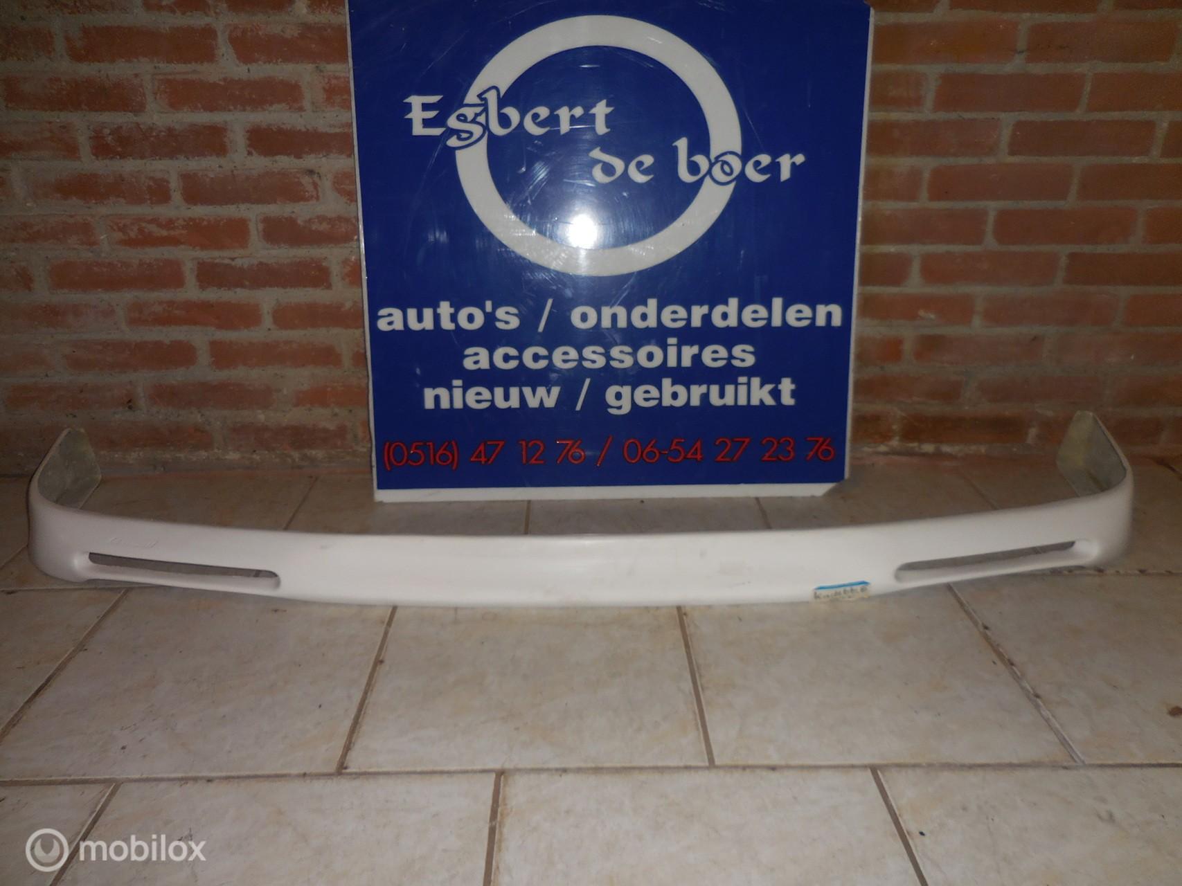 Opel Kadett E GSI voorbumper onderlip voor+ achter
