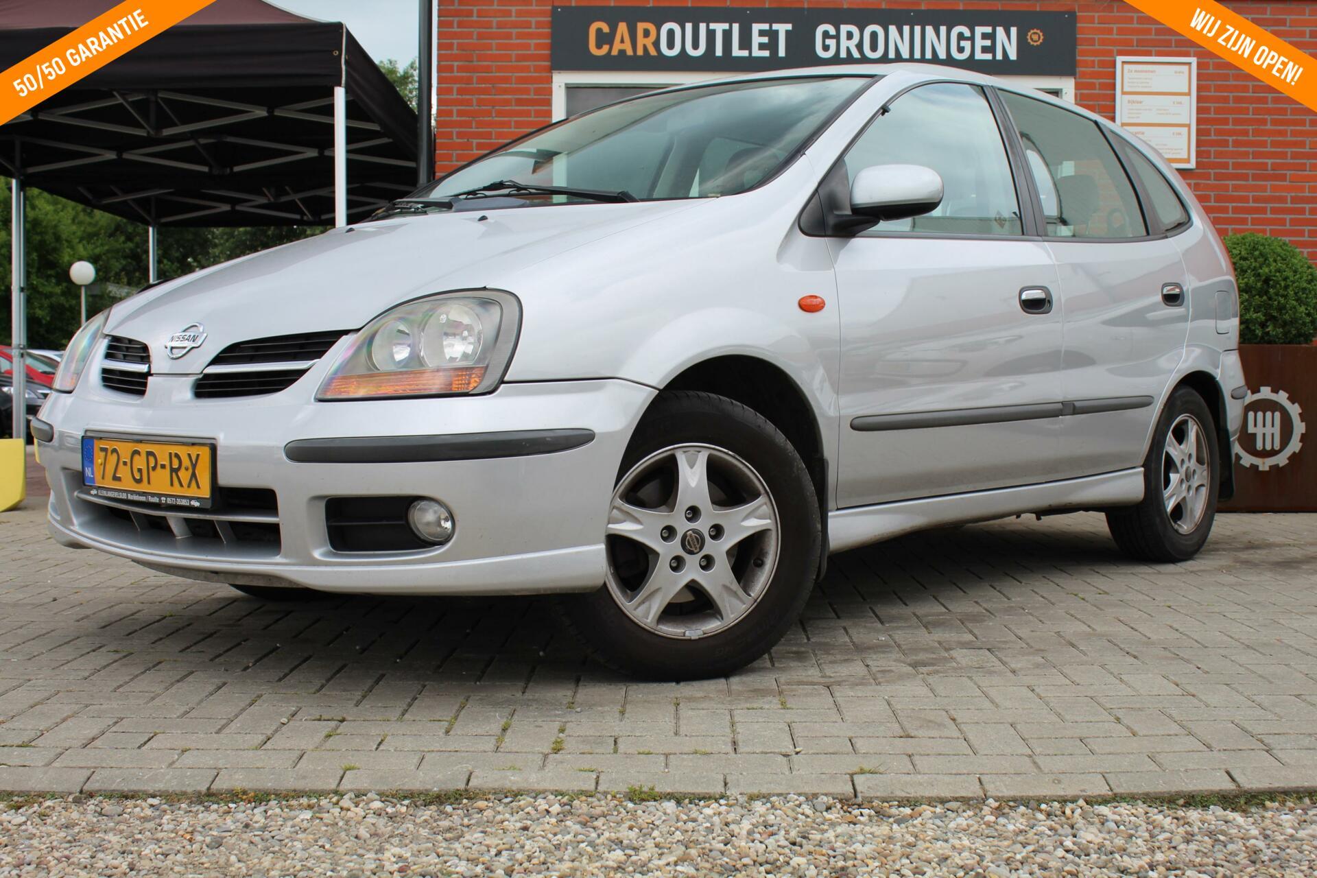 Caroutlet Groningen - Nissan Almera Tino 1.8 Luxury | NET BINNEN | AIRCO | 2e EIGENAAR