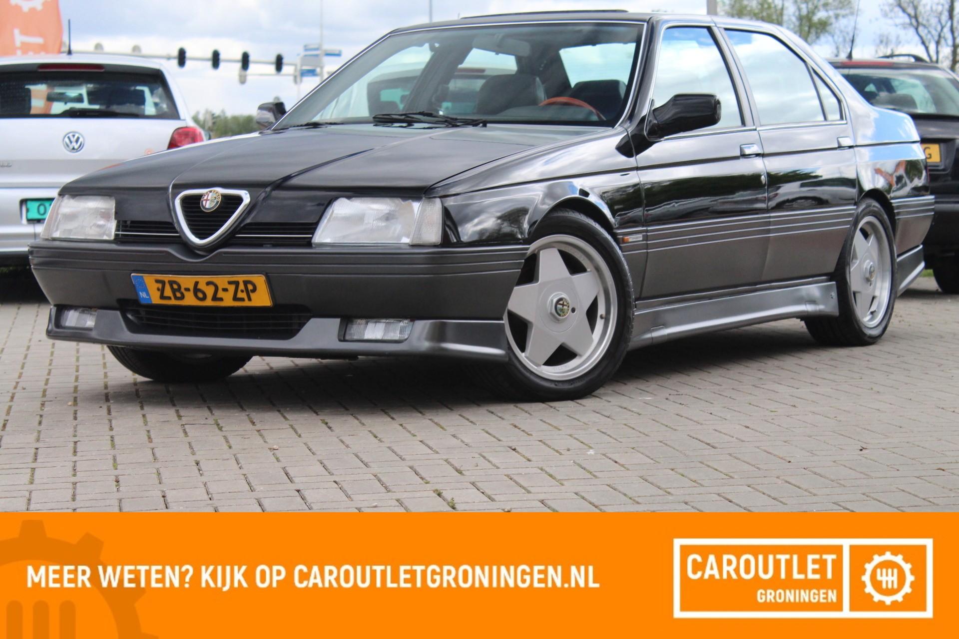 Caroutlet Groningen - Alfa Romeo 164 3.0 V6 QV | LEER | SCHUIFDAK | ORG  NL