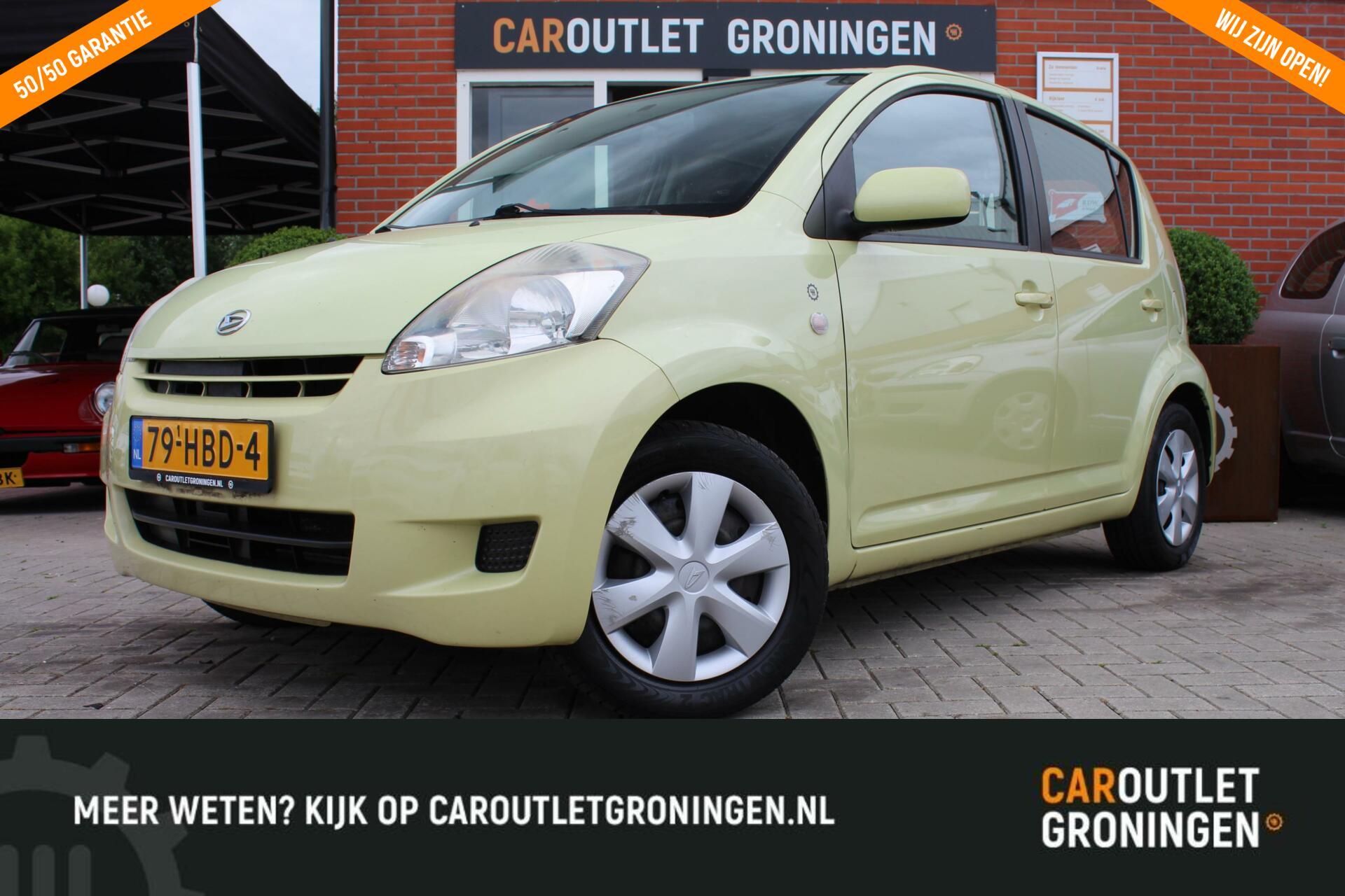 Caroutlet Groningen - Daihatsu Sirion 2 1.0-12V Premium | 2008 | AUX