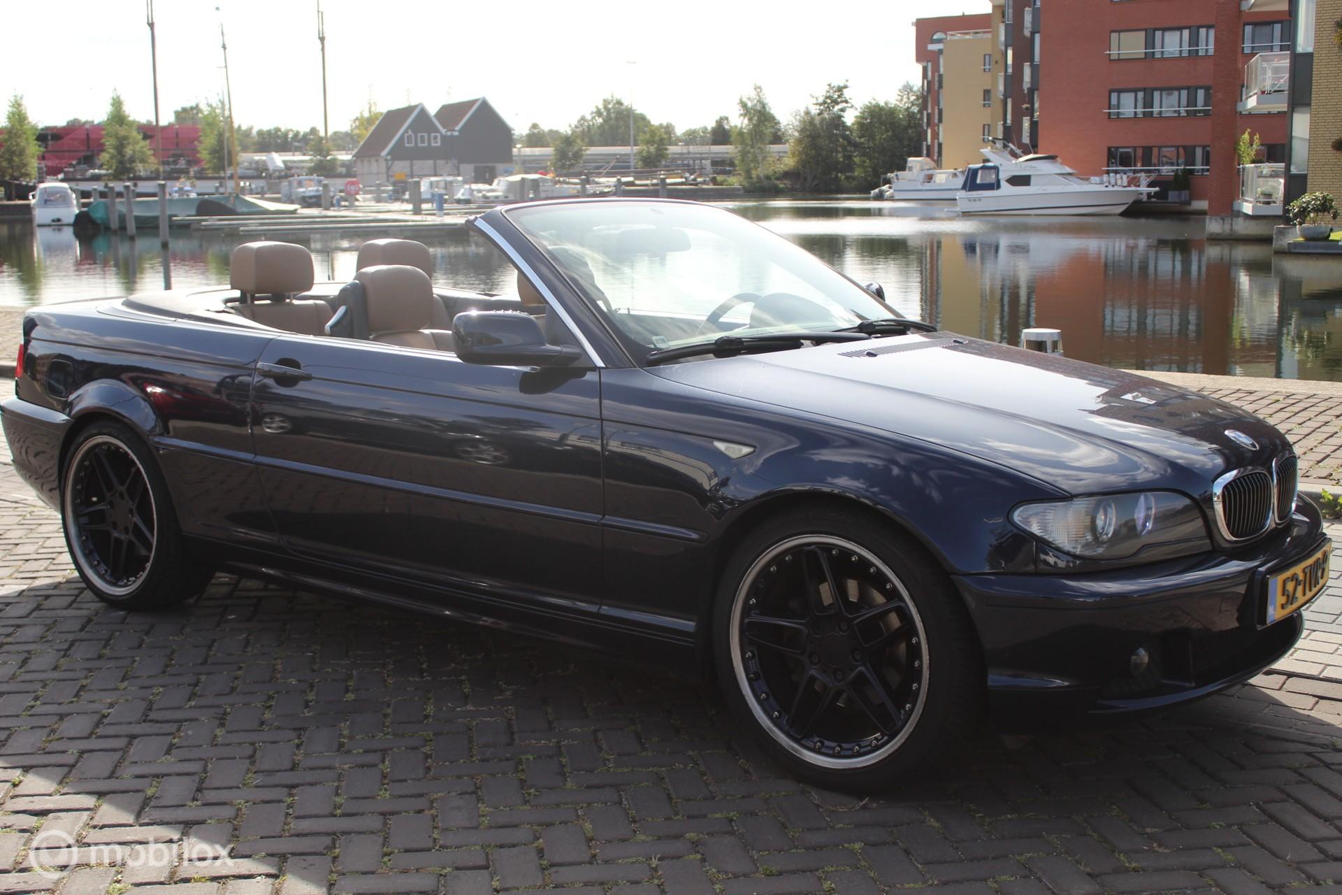 BMW 320Ci Exe. Automaat Facelift Navi Leder Cabrio 19inch