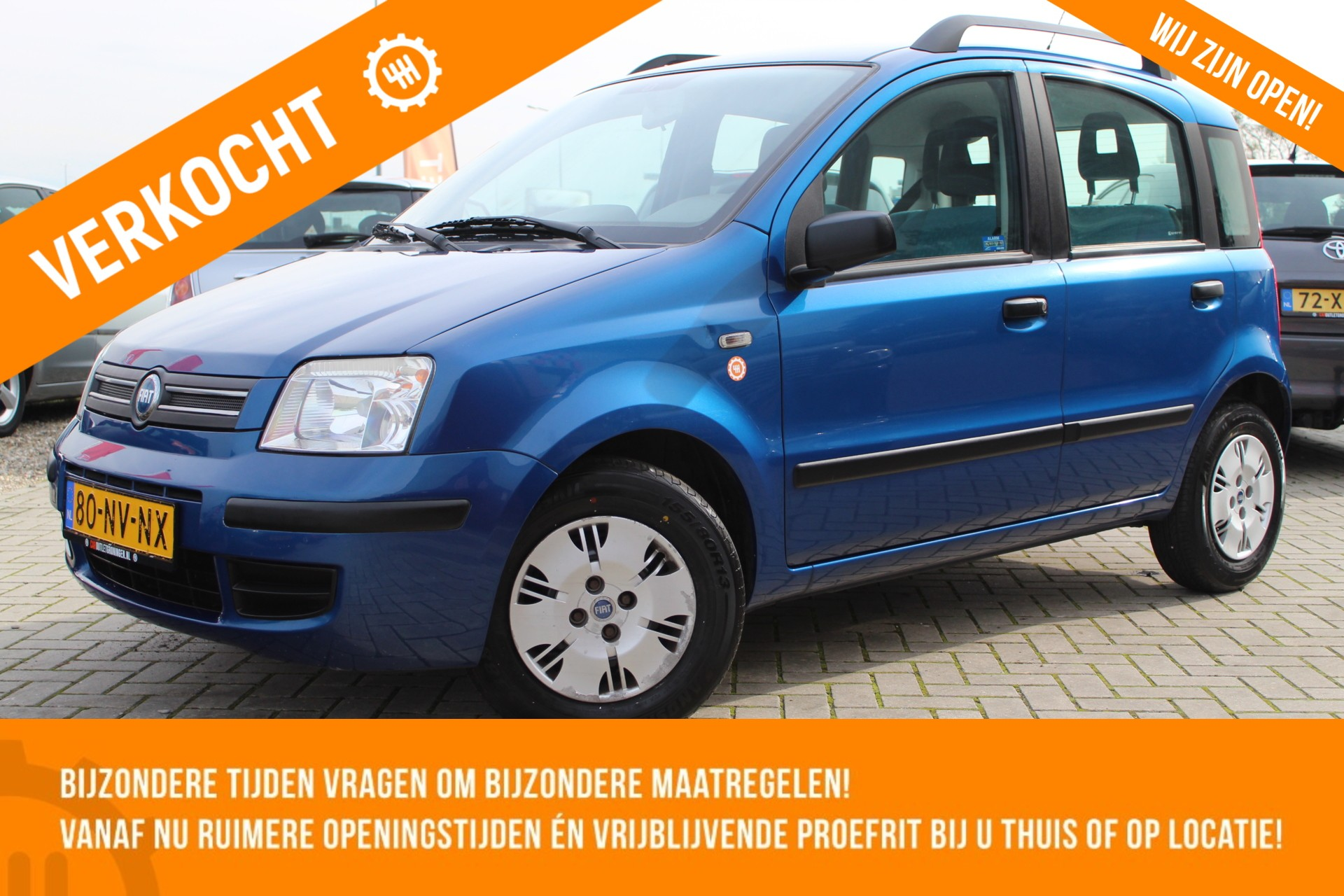 Caroutlet Groningen - Fiat Panda 1.2 Dynamic | ELEK PAKKET | NW APK | 5 DEURS