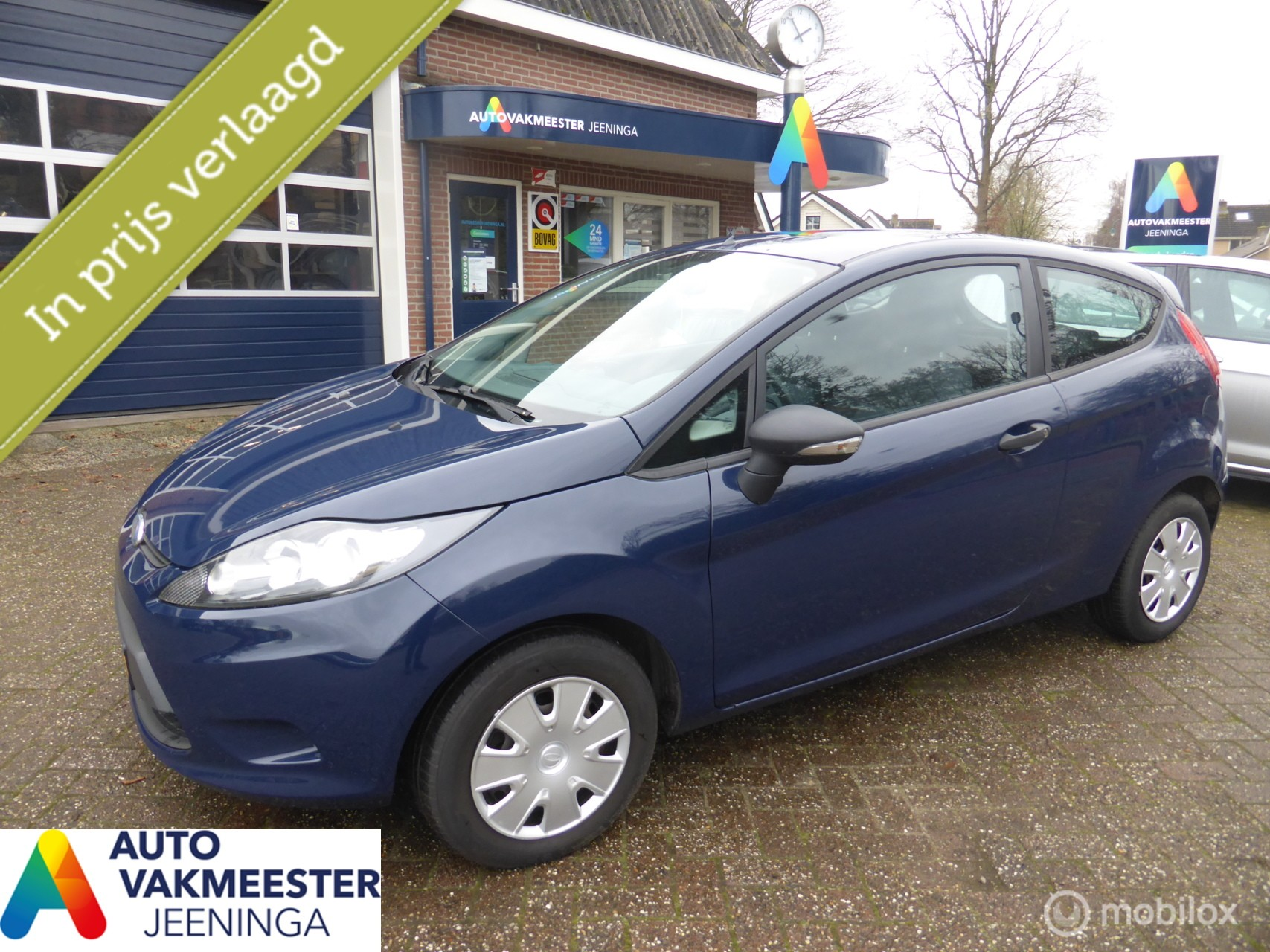 Ford Fiesta 1.25 Limited  Nette auto!