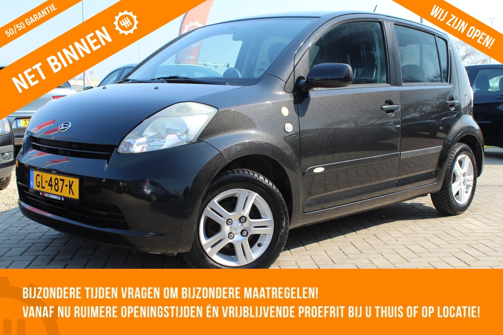 Caroutlet Groningen - Daihatsu Sirion 2 1.3-16V Comfort | AIRCO | 5 DEURS | HOOGZITTER