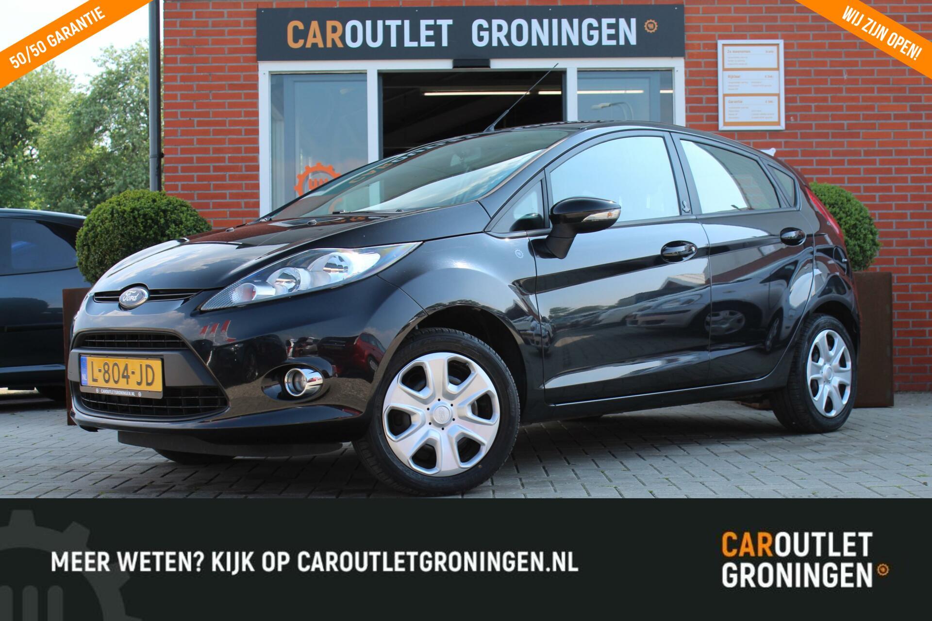 Caroutlet Groningen - Ford Fiesta 1.25   AIRCO   ELEK PAKKET   2012  