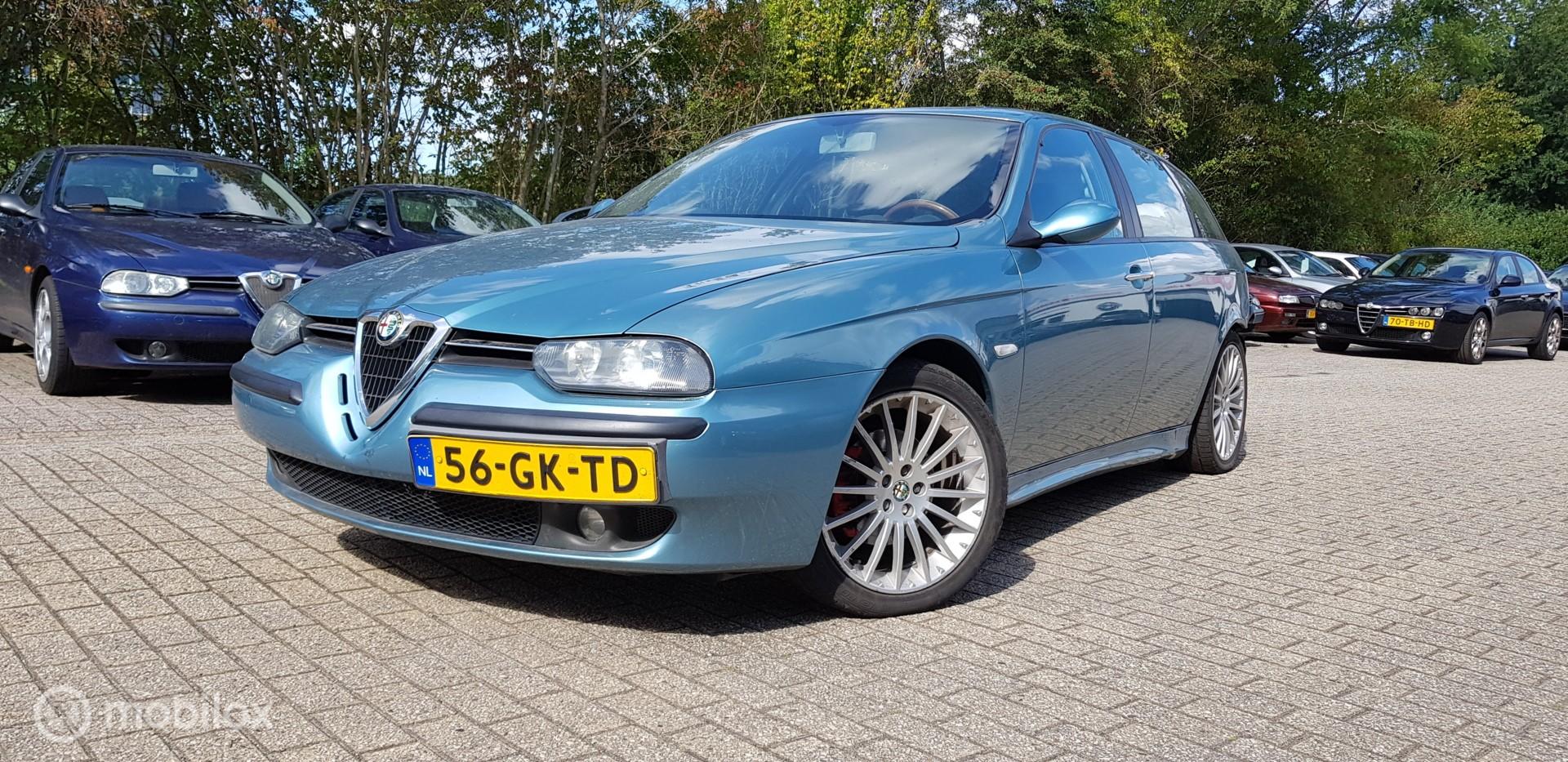 Alfa Romeo 156 Sportwagon - 2.5-24V V6 Q-SYSTEM DIST. RIJDBARE A. SCHADE