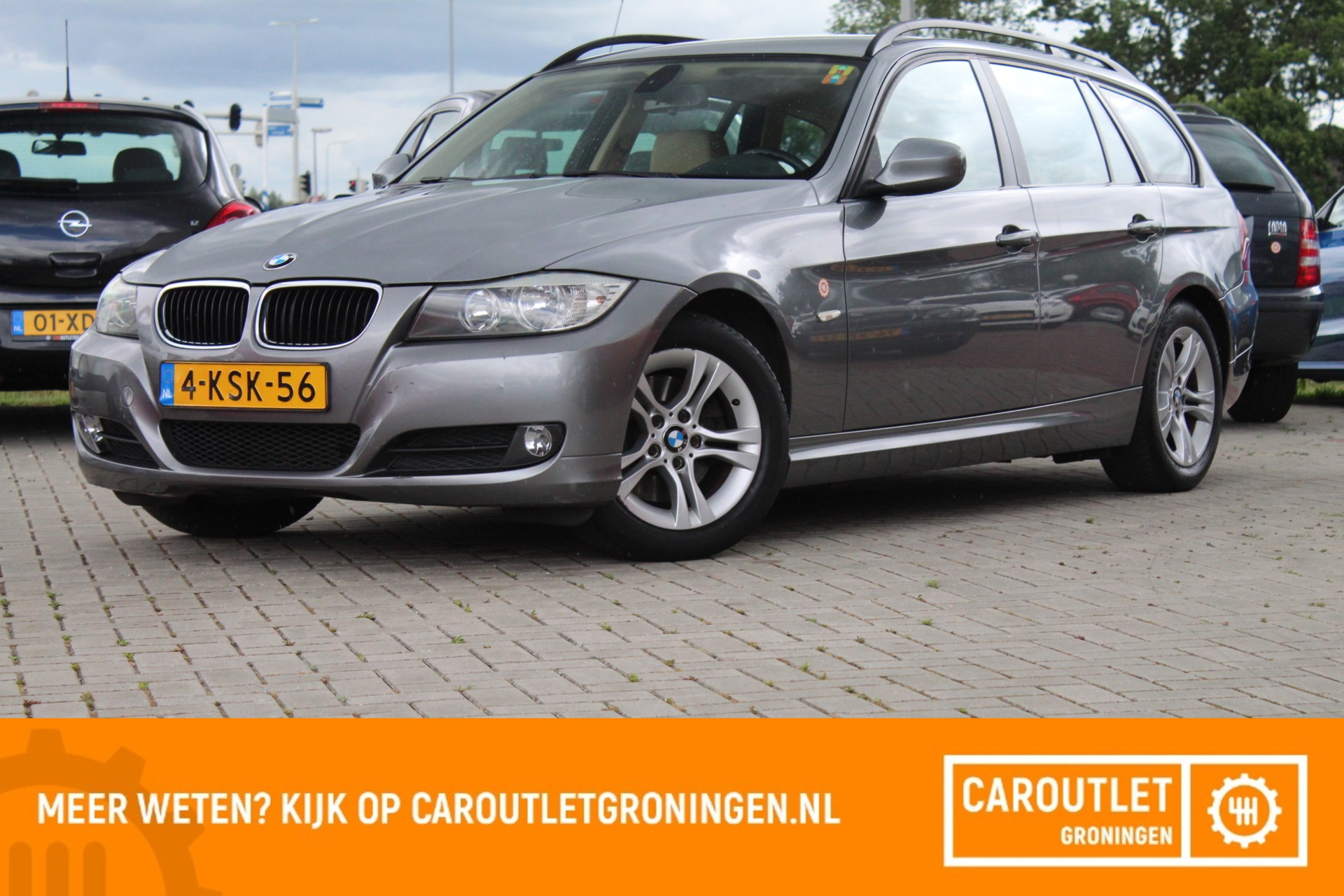 BMW 318d Touring High Executive | 2010 | LEER | CRUISE | CLIMA