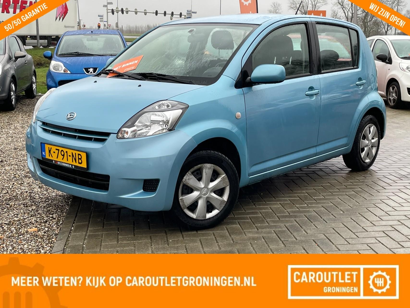 Caroutlet Groningen - Daihatsu Sirion 2 1.0-12V Premium | NET BINNEN! | AIRCO | 2010