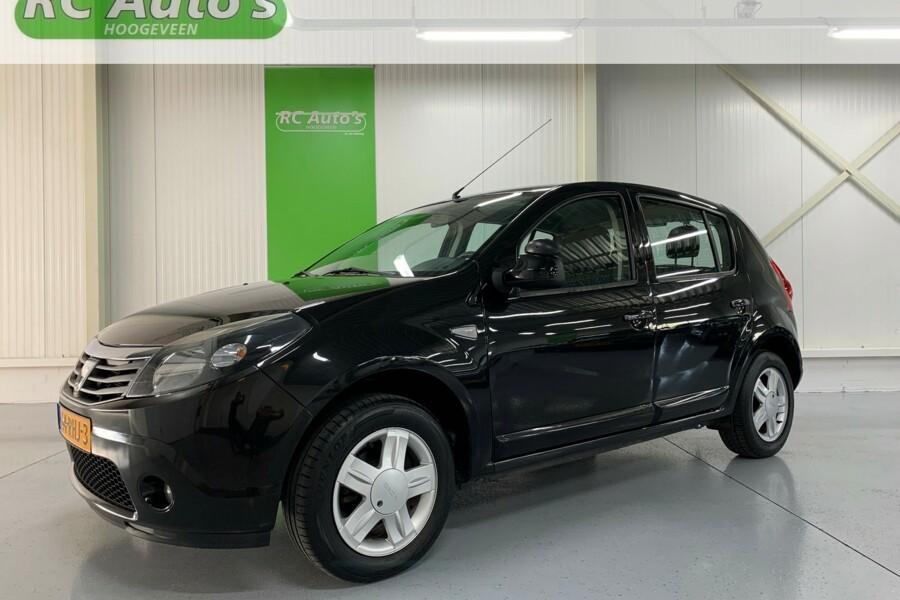 Dacia Sandero 1.2 Blackline LPG G3-5 DEURS-TREKHAAK-AIRCO