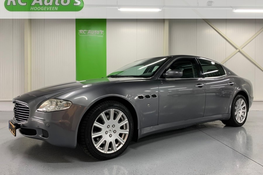 Maserati Quattroporte 4.2 Duo Select 401PK-YOUNGTIMER!-ORIG.NED!?>