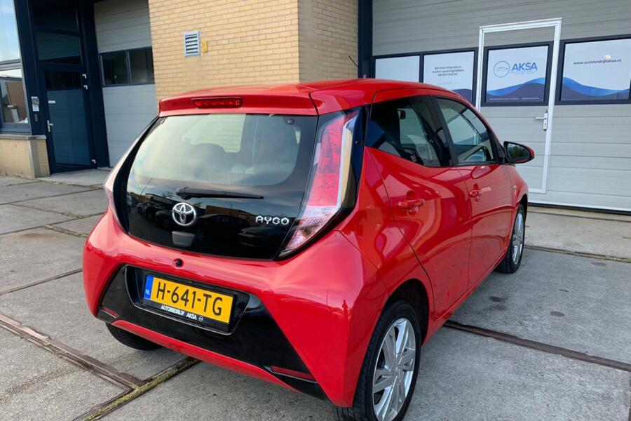 Toyota Aygo 1.0 VVT-i x-wave