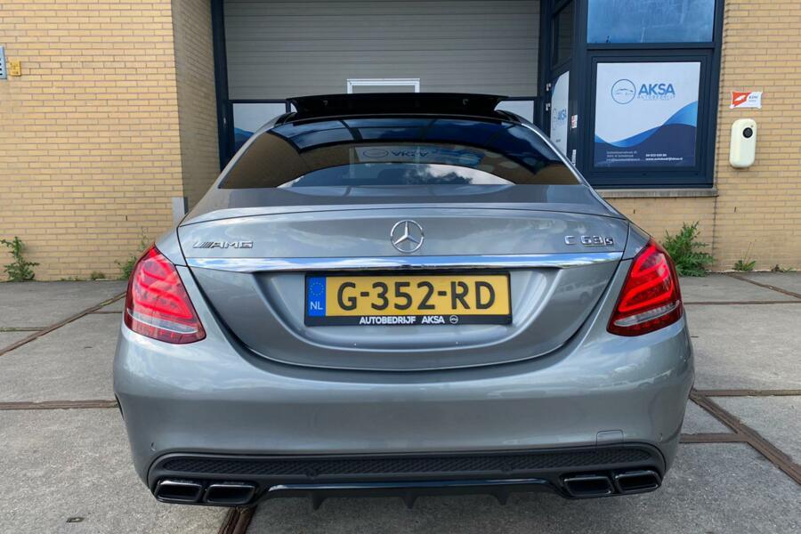 Mercedes C-klasse C63 S AMG Panoramadak | Burmester | HeadUp
