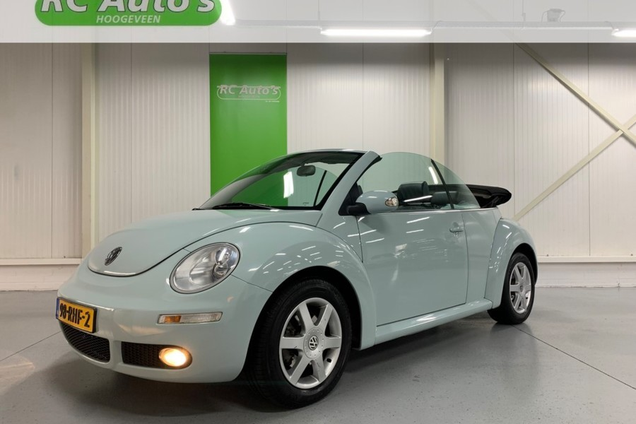 Volkswagen NEW BEETLE 2.5i Highline Cabriolet Aut. LEER-AIRCO-CRUISE