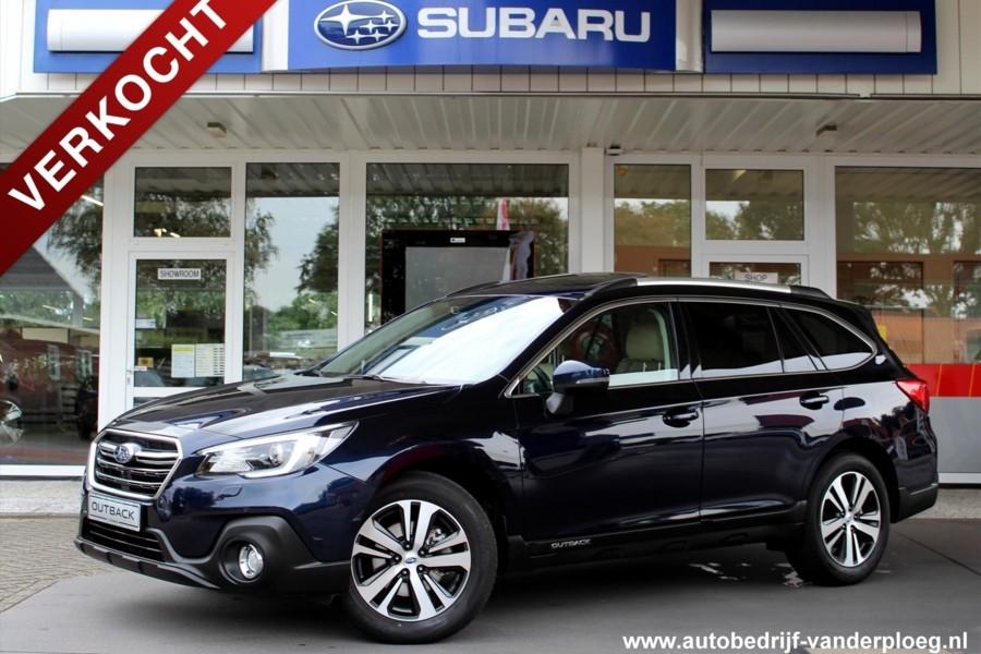 Subaru Outback 2.5 CVT Premium EyeSight * Navigatie * Trekhaak * Parkeersensoren