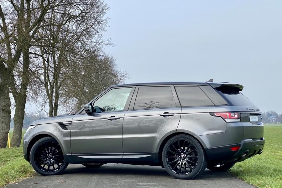 Land Rover Range Rover Sport TDV6 HSE Stealth Grijs kenteken