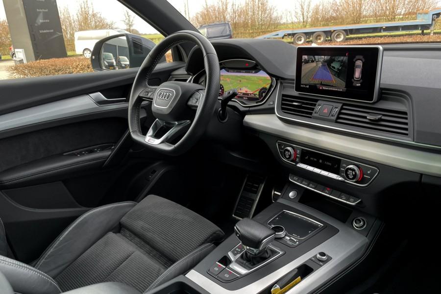 Audi Q5 2.0 TFSI S-Line Panodak Luchtvering Trekhaak Camera 20inch ACC